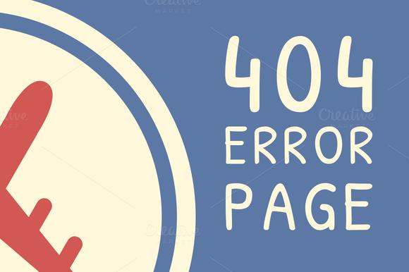 AirMail Error 404 HTML Template