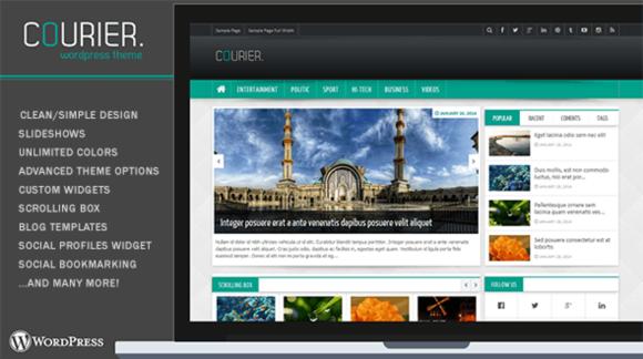 Courier Wordpress Theme