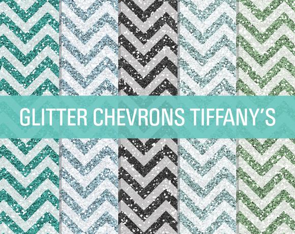 Glitter Chevron Textures Tiffany S