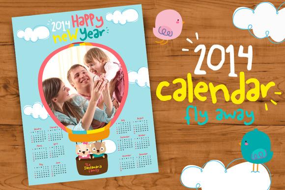 2014 Calendar Fly Away