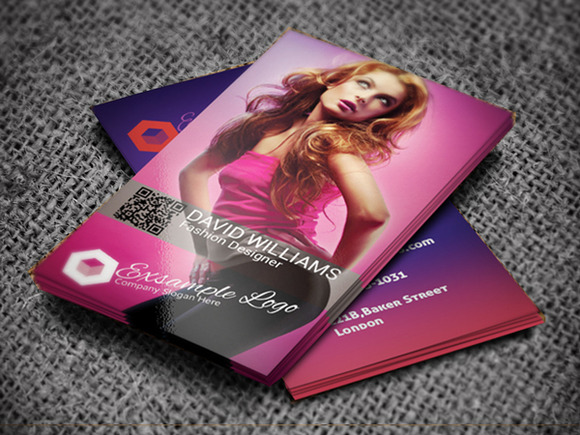 Fashion Business Card II