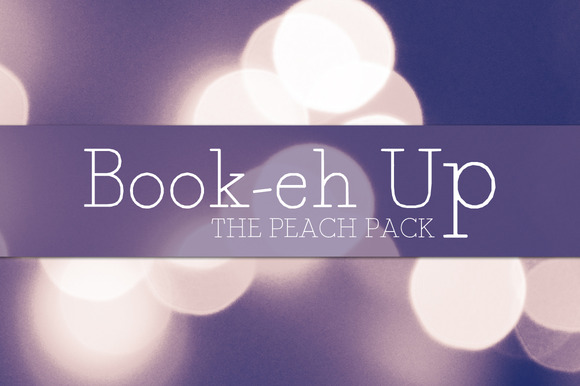 Book-eh-Up Peach Pack