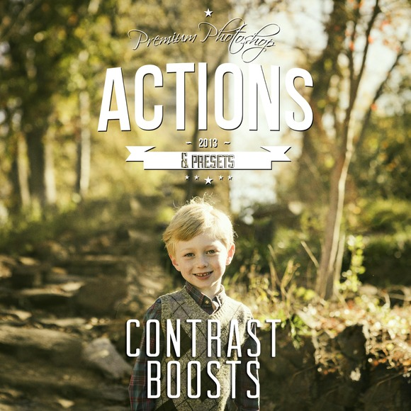 Contrast Boost Actions For Photoshop