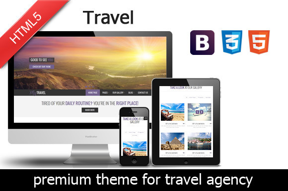 Travel Agency Premium Theme