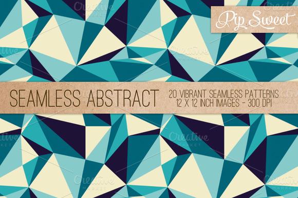 Seamless Abstract 20 Pattern Set