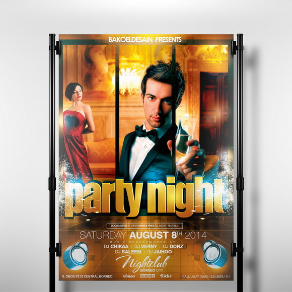 Party Night Flyer 2