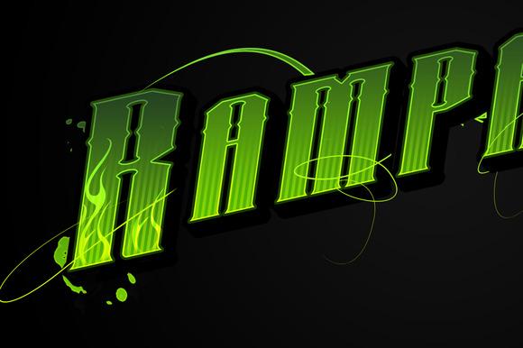 Acid Venom Style Psd
