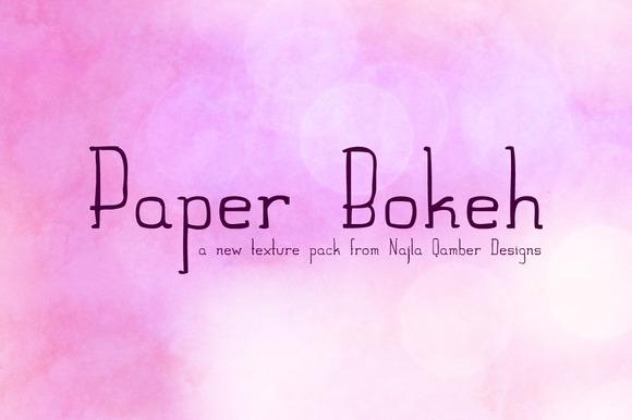 Paper Bokeh Pack