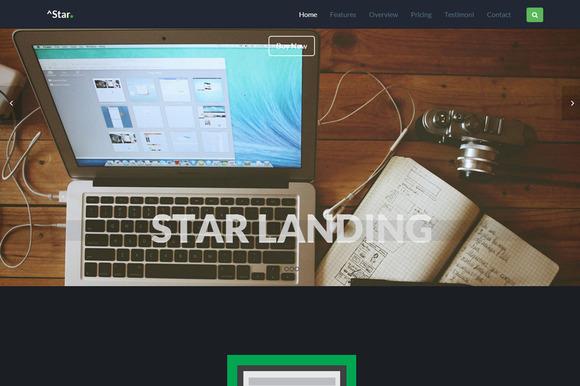 Star Responsive Onepage Landing