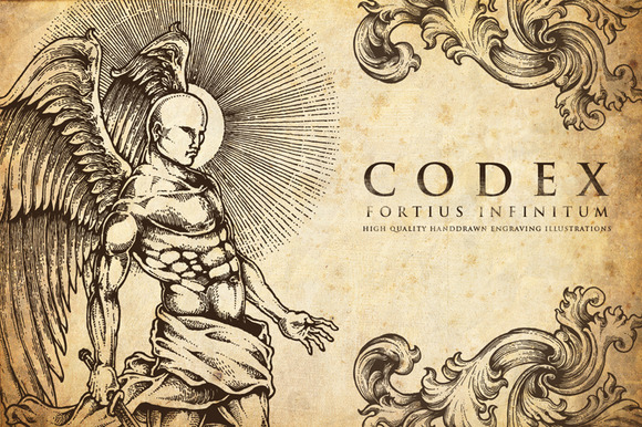 Codex Fortius Infinitum Engraving