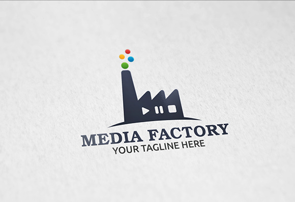 Media Factory Logo Template