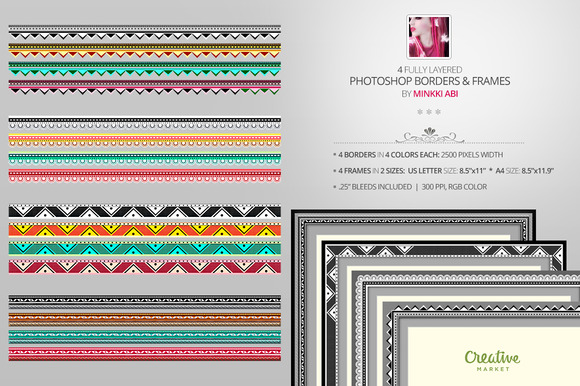 Creative PSD Borders And Frames