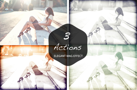 Elegant Fashion Mag Effect Actions