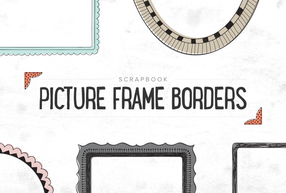Scrapbooking Picture Borders SALE