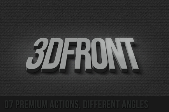 07 Premium 3D Actions