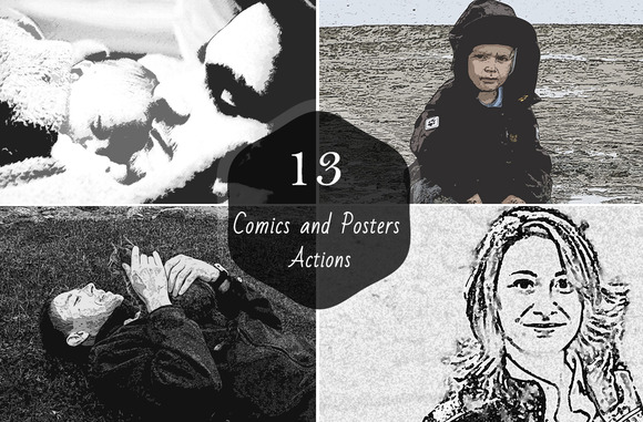 13 Comics And Posters Actions