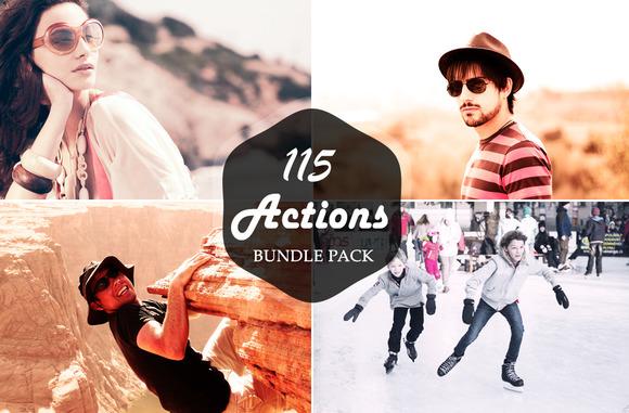 115 Photoshop Action Bundle