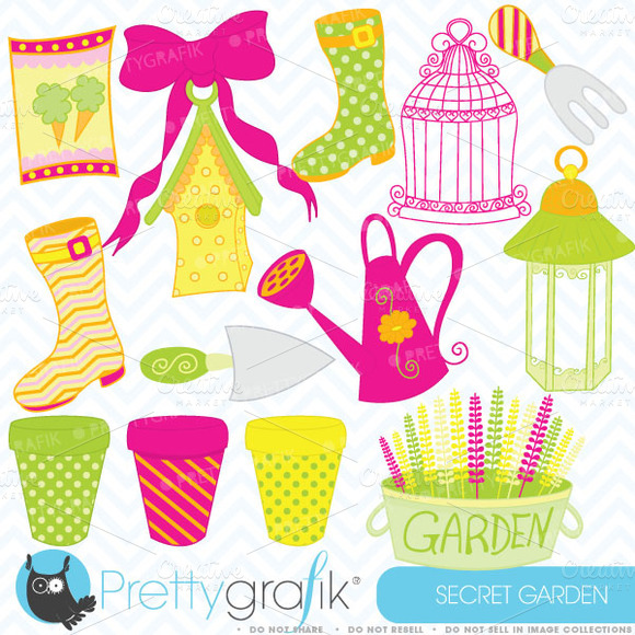 Outdoor Garden Clipart Commercial
