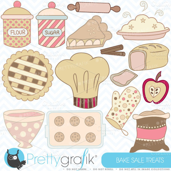 Bake Sale Clipart Commercial Use