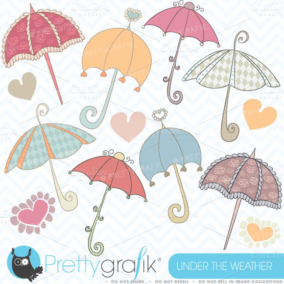 Umbrella Clipart Commercial Use