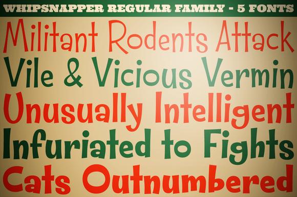Whipsnapper Family