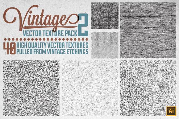 Vintage Vector Texture Pack 2