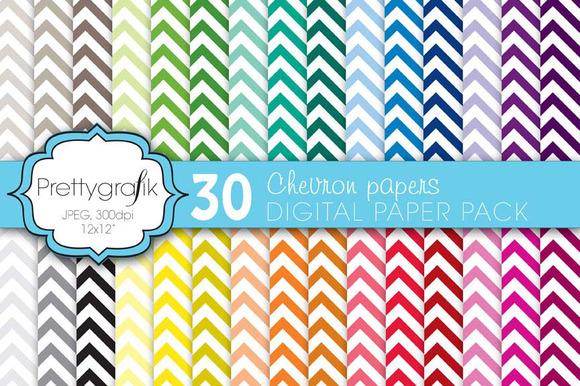 Chevron Digital Paper Commercial