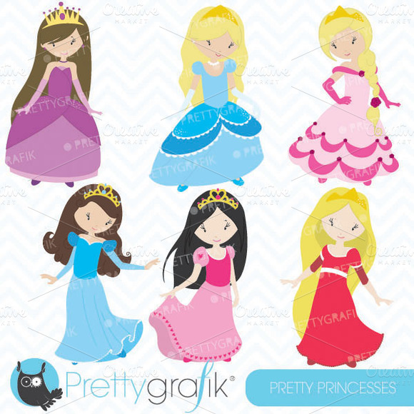 Princess Clipart Commercial Use