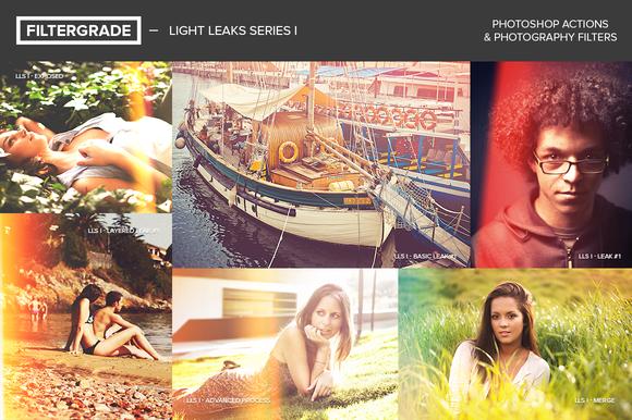 FilterGrade Light Leaks Series I