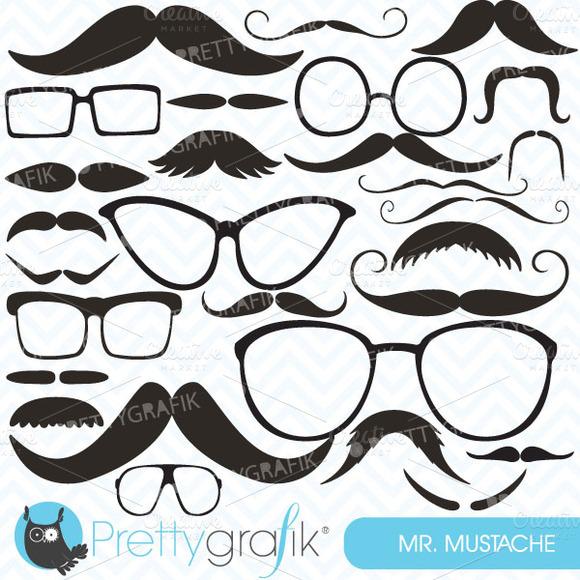 Moustache Prop Mustache Clipart