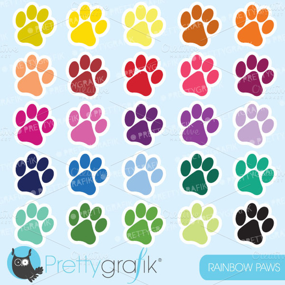 Paws Clipart Commercial Use