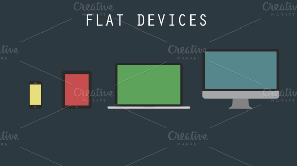 Flat Apple Devices
