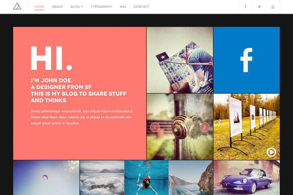 DW Fixel Responsive WordPress Blog