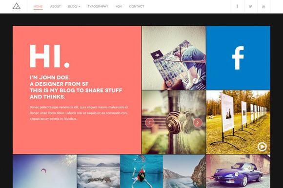 DW Fixel Responsive WordPress Blog