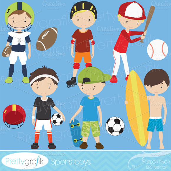 Sports Clipart Commercial Use