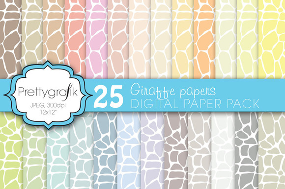 Giraffe Digital Paper Commercial
