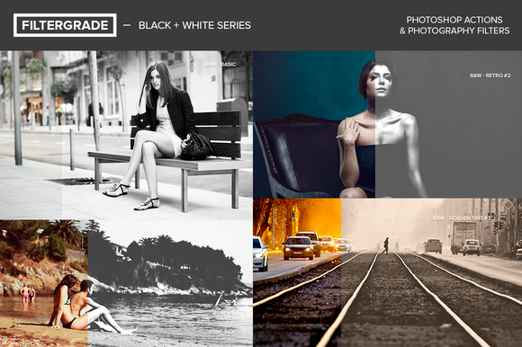 FilterGrade Black White Series