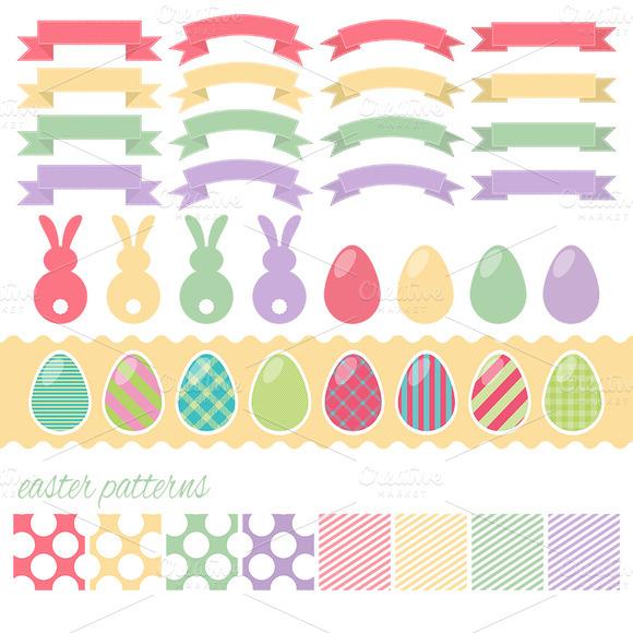 Vector Easter Design Elements