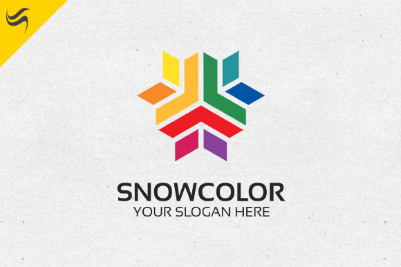 Snow Color Logo Template