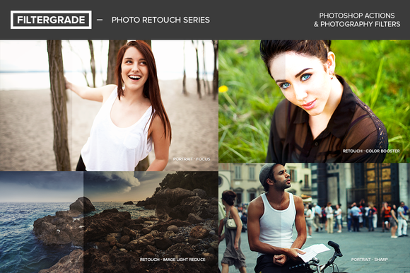 FilterGrade Photo Retouch Series