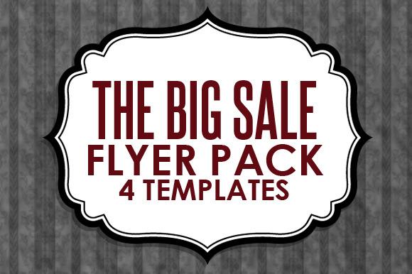 Big Sales Flyer Pack