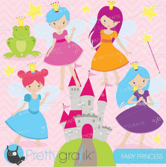 Fairy Princess Clipart Commercial