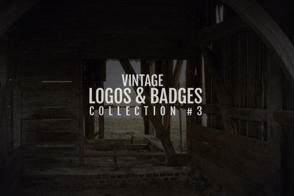 Vintage Logos Badges Collection 3