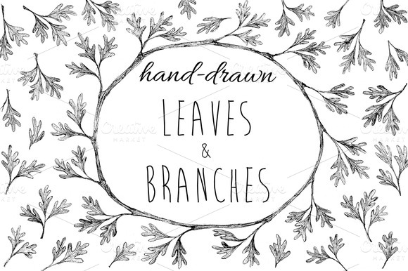 Leaves Branches Brushes And Images