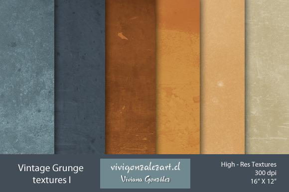 Vintage Grunge Textures I