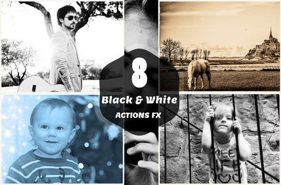 8 B W ACTIONS FX
