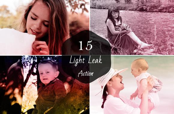 15 Premium Light Leaks