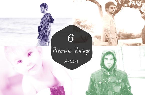 6 Premium Vintage