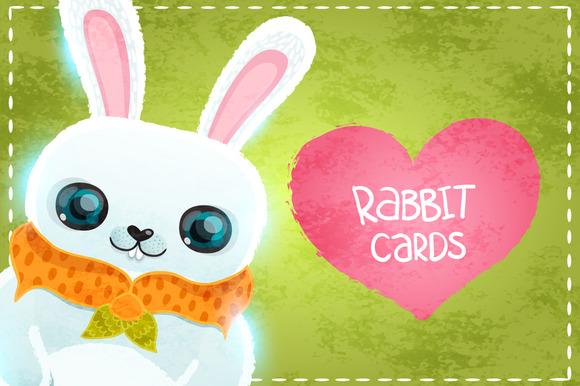 Happy Valentines Day Cards Rabbit