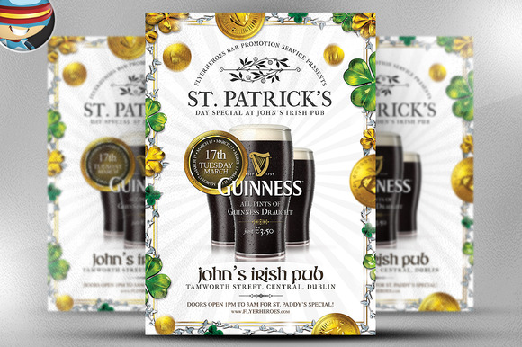 Saint Patrick S Day PSD Flyer 8